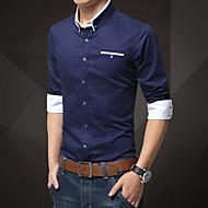 Majica Muškarci Dnevno Pamuk Color block