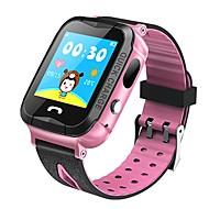tanie Inteligentne zegarki-Zegarki dziecięce Gry Video Kamera/aparat Śledzenie odległości Informacje Odbieranie bez użycia rąk Obsługa wiadomości Anti-lost