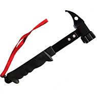 cheap Camping Tools, Carabiners & Ropes-Hammers Camping / Hiking Outdoor Exercise Camping / Hiking / Caving Outdoor Multi-functional Carbon Steel Rubber 1 pcs