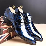 Homme Chaussures Toile Printemps Automne Confort Mocassins et Chaussons+D6148 Marche pour Décontracté Bleu de minuit Argent Rouge