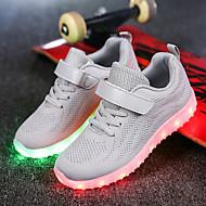 tanie Obuwie chłopięce-Dla chłopców Buty Materiał Tiul Materiał do wyboru Zima Wiosna Świecące buty Comfort Tenisówki Spacery LED Szurowane na Casual Na wolnym
