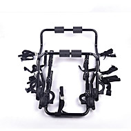 cheap Bike Accessories-Bike Trunk Mount Rack Cycling Foldable Steel Tube Plastic Nylon