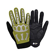 cheap Cycling Gloves-SPAKCT Sports Gloves Reflective Wearable Breathable Anti-Shock Thick Skidproof Full-finger Gloves Touch Screen Gloves Neoprene Nylon Road