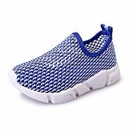 baratos Sapatos de Menina-Para Meninos / Para Meninas Sapatos Tule Primavera Conforto Mocassins e Slip-Ons para Preto / Vermelho / Azul