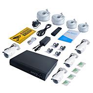 baratos Kits NVR-jooan® 4ch 1080 p nvr com 2 tb hdd 4 pcs à prova d 'água poe câmera ip 100ft visão noturna 48 v poder sobre ethernet