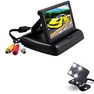 cheap Car Rear View Camera-RenEPai® 4.3 Inch Folding Display Monitor + 170°HD Car Rear View Camera +  Wide Angle Waterproof Camera