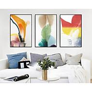 billige Innrammet kunst-Abstrakt Veggkunst,Polystyrene Materiale med ramme For Hjem Dekor Rammekunst Stue Soverom