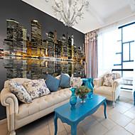 billige Tapet-Art Deco 3D Hjem Dekor Moderne Sceneri Tapetsering Materiale selvklebende nødvendig Veggmaleri , Tapet
