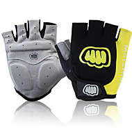 cheap -Sports Gloves Bike Gloves / Cycling Gloves Sports Gloves Wearable Breathable Anti-Shock Skidproof Fingerless Gloves Silicone Nylon Road
