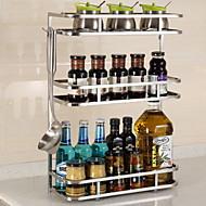 billiga Köksförvaring-Rostfritt stål Lätt att använda Kreativ Köksredskap Köksredskap 1st Kök Organisation