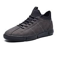 tanie Obuwie męskie-Męskie Komfortowe buty Nubuk / Sztuczna skóra / PU Wiosna Adidasy Czarny / Szary