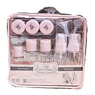 billiga Sminktillbehör-Kosmetikflaskor Enfärgad Ellips Plastik