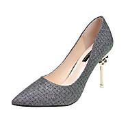 Χαμηλού Κόστους -Γυναικεία Παπούτσια PU Άνοιξη / Καλοκαίρι Ανατομικό Τακούνια Τακούνι Στιλέτο Χρυσό / Ασημί