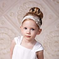מידה אחת לבן אביזרי שיער כותנה בנות ילדים / רצועות ראש
