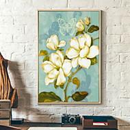 baratos Quadros com Moldura-Botânico Ilustração Arte de Parede,Liga de Alúminio Material com frame For Decoração para casa Arte Emoldurada Sala de Estar