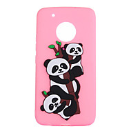 billiga Mobil cases & Skärmskydd-fodral Till Motorola G5 Plus G5 Mönster Panda Mjukt för
