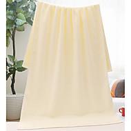 tanie Ręcznik kąpielowy-Świeży styl Ręcznik kąpielowy, Jendolity kolor Najwyższa jakość Czysta bawełna Plain 100% Cotton