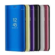Etui Käyttötarkoitus Huawei P10 Lite P10 Tuella Pinnoitus Peili Flip Automaattinen uni/herätystila Kokonaan peittävä Yhtenäinen väri Kova