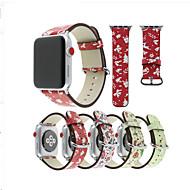 billiga Smart klocka Tillbehör-Klockarmband för Apple Watch Series 4/3/2/1 Apple Modernt spänne PU Handledsrem