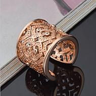 Kadın's Bildiri Yüzüğü manşet Yüzük Som Gümüş Yapay Elmas Kalp Aşk Bayan Lüks Eşsiz Tasarım Zarif Gelin Moda Yüzükler Mücevher Altın / Gümüş Uyumluluk Düğün Parti Yıldönümü Doğumgünü Hediye Günlük