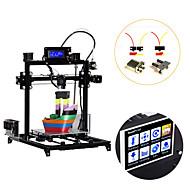 baratos Ferramentas e Equipamentos-Flsun i3 diy kit de impressora 3d grande área de impressão 300 * 300 * 420mm 3.2 polegadas tela de toque extrusora dupla
