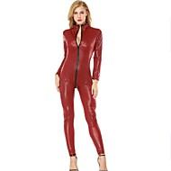 preiswerte Sexy Kostüme-Cosplay Kostüme Zentai Kostüme Cosplay Kostüme Schwarz Rot Punkt Gymnastikanzug/Einteiler Elasthan Damen Weihnachten Halloween Karneval
