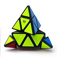 Sihirli küp IQ Cube QIYI A Pyraminx Alien 3*3*3 Pürüzsüz Hız Küp Sihirli Küpler bulmaca küp Parlak Stres ve Anksiyete Rölyef Ofis Masası Oyuncakları Mimari Klasik Çocuklar için Yetişkin Oyuncaklar