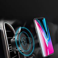 billige -Bil Oplader / Trådløs Oplader USB oplader USB Trådløs Oplader / Qi 1 USB-port 1 A iPhone 8 Plus / iPhone 8 / S8 Plus