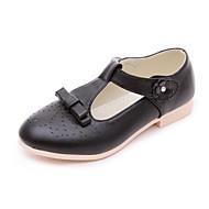 お買い得  フラワーガールシューズ-女の子 靴 PUレザー 春夏 フラワーガールシューズ / 10代のための小さなハイヒール ヒール のために ブラック / レッド / ピンク