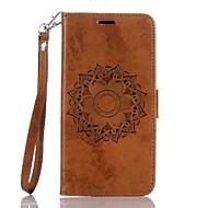billiga Mobil cases & Skärmskydd-fodral Till Huawei Y6 II / Honor Holly 3 Y5 II / Honor 5 Korthållare Plånbok med stativ Lucka Läderplastik Fodral Mandala Hårt PU läder