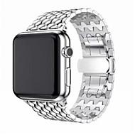 Χαμηλού Κόστους Έξυπνο Ρολόι Αξεσουάρ-Παρακολουθήστε Band για Apple Watch Series 4/3/2/1 Apple Κλασικό Κούμπωμα Ανοξείδωτο Ατσάλι Λουράκι Καρπού