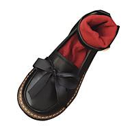 baratos Sapatos Masculinos-Mulheres Sapatos Couro Ecológico Primavera / Verão Conforto Rasos Sem Salto Branco / Preto