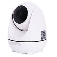 billige IP-kameraer-VESKYS 2 mp IP Camera Innendørs Support64 GB / PTZ / CMOS / Trådløs / Dynamisk IP-adresse / iPhone OS