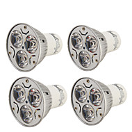 abordables Spots LED-YouOKLight 3W 200-250 lm GU10 Spot LED R63 3 diodes électroluminescentes LED Haute Puissance Décorative Blanc Chaud Blanc Froid AC