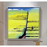 billige Innrammet kunst-Abstrakt Veggkunst,Polystyrene Materiale med ramme For Hjem Dekor Rammekunst Stue