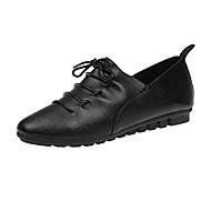 baratos Sapatos Femininos-Mulheres Sapatos Couro Ecológico Primavera / Verão Conforto / Plataforma Básica Tamancos e Mules Salto Agulha Dedo Apontado Branco /