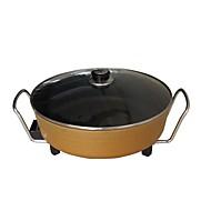 billiga Kök och matlagning-Multi Purpose Pot / Instant Pot Multifunktion Aluminium-magnesiumlegering Mat Ångkokare 100-240V 1360W Köksmaskin
