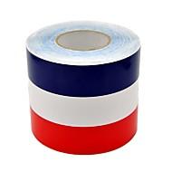 olcso -50 * 15cm france flag színes matricák matricák az autók&teherautók