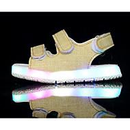 baratos Sapatos de Menino-Para Meninos Sapatos Micofibra Sintética PU Primavera Conforto Sandálias para Branco / Preto / Amarelo