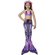 cheap -The Little Mermaid Princess Mermaid Tail Fairytale Bikini Swimwear Girls' Halloween Carnival Children's Day Festival / Holiday Halloween