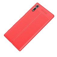 billiga Mobil cases & Skärmskydd-fodral Till Sony Xperia XZ Xperia XZ1 Ultratunt Skal Ensfärgat Mjukt TPU för Xperia XZ1 Compact Sony Xperia XZ1 Sony Xperia XZ Premium