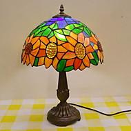 abordables Lampes-Métallique Décorative Lampe de Table Pour Chambre à coucher Métal Orange