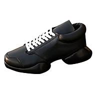 Muškarci Cipele PU Proljeće Jesen Udobne cipele Sneakers za Kauzalni Obala Crn Crno-bijeli