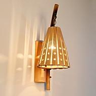 billige Vegglamper-Øyebeskyttelse Land Vegglamper Stue Tre / Bambus Vegglampe 220-240V 40W