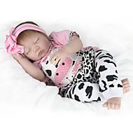 NPK DOLL Autentične bebe Djevojčice Beba 55cm Vinil vjeran Sladak Sigurno za djecu Interakcija roditelja i djece simuliranje Lijep Non