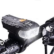 billige Sykkellykter og reflekser-Sykkellykter Smart Lights LED Sykling Vanntett 600 Lumens Hvit Camping/Vandring/Grotte Udforskning Sykling