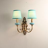tanie Kinkiety Ścienne-Styl MIni Kraj Lampy ścienne Na Living Room Sypialnia Metal Światło ścienne IP44 5W