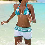 Žene Bandeau grudnjak Bikini Kupaći kostimi Sexy Plava