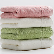 cheap Towels & Robes-Superior Quality Wash Cloth, Solid Colored 100% Cotton Bathroom