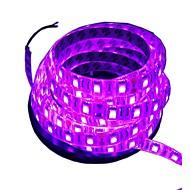 billiga Belysning-300 lysdioder 5M LED Strip Light Rosa Klippbar Vattentät Självhäftande Lämplig för fordon Dekorativ DC 12 V
